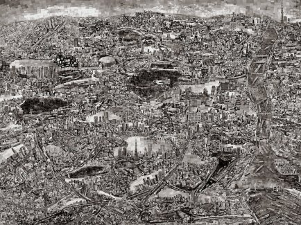 Sohei Nishino (Oct 2013–Mar 2014) 2420 x 1810mm
