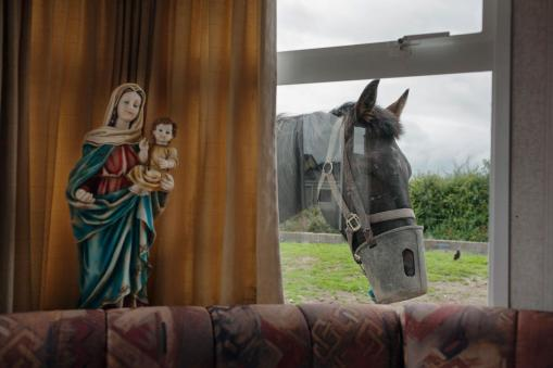 two-important-symbols-within-the-travelling-community-the-virgin-mary-and-a-horse-are-seen-in-county-kilkenny