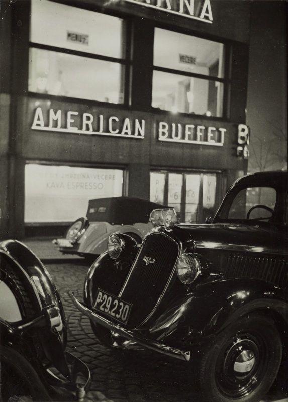 American Buffet, 1934, Jaroslav Kysela