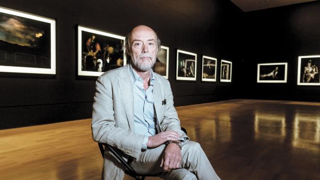 Bill Henson in Melbourne. Picture- Luis Enrique Ascui