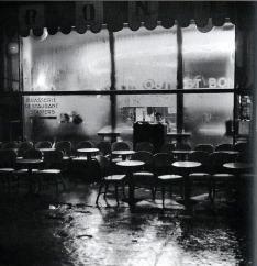 Marcel Bovis (1930s) Place d'Italie, La Brasserie Rozès, Paris