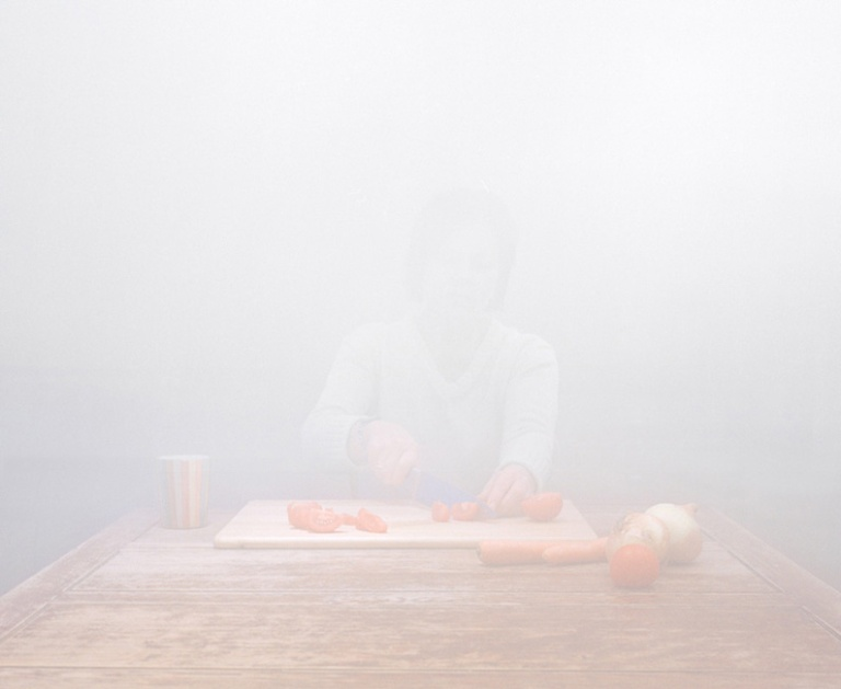 Chopped Tomatoes. C-type Print 40x30in (101x83cm)