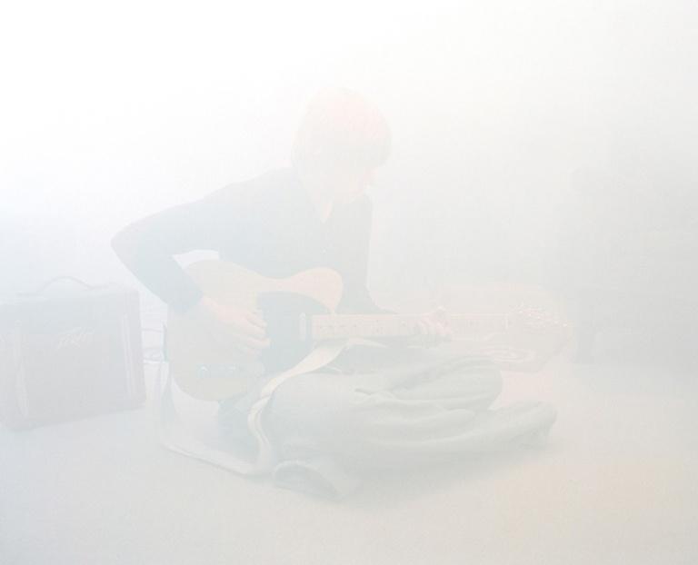 Guitar Practice. C-type Print 40x30in (101x83cm)