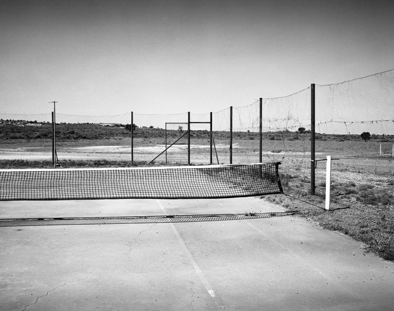 Jane Brown - Outback tennis court White Cliffs, New South Wales, 2014 :16