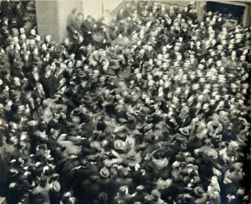 Karel Hájek Demonstrace proti fašismu na filosofické fakultě 1936
