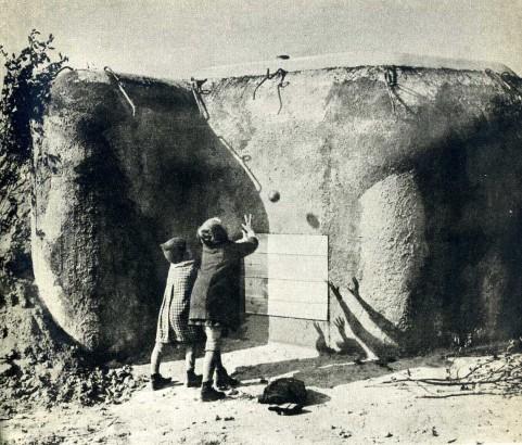 Karel Hájek U bunkru 1939