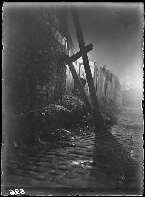 Marcel Bovis - Rue de nuit, 1927