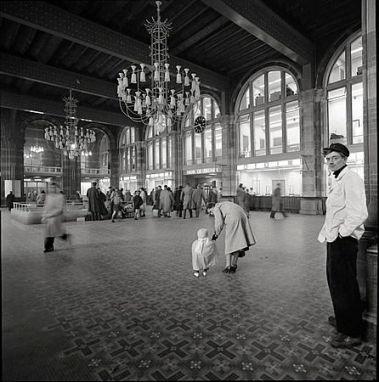 Maria Austria (1956) Centraal Station, Amsterdam.