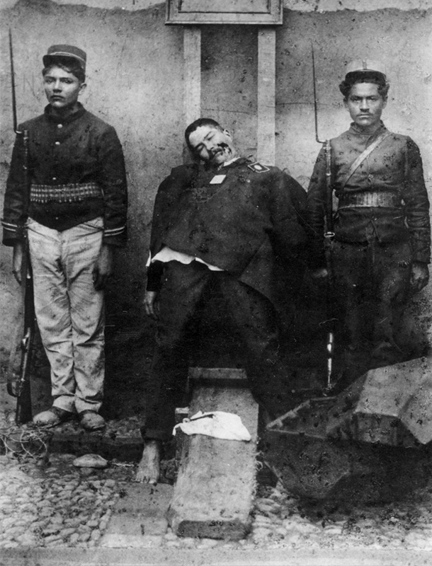 Benjamin de la Calle (n.d.) Last public execution.