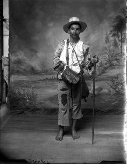 Benjamin de la Carra (n.d.) Peasant portrait