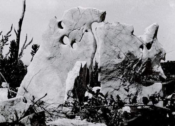 Raoul UBAC (1909-1985) Pierres dressées de Dalmatie, 1933