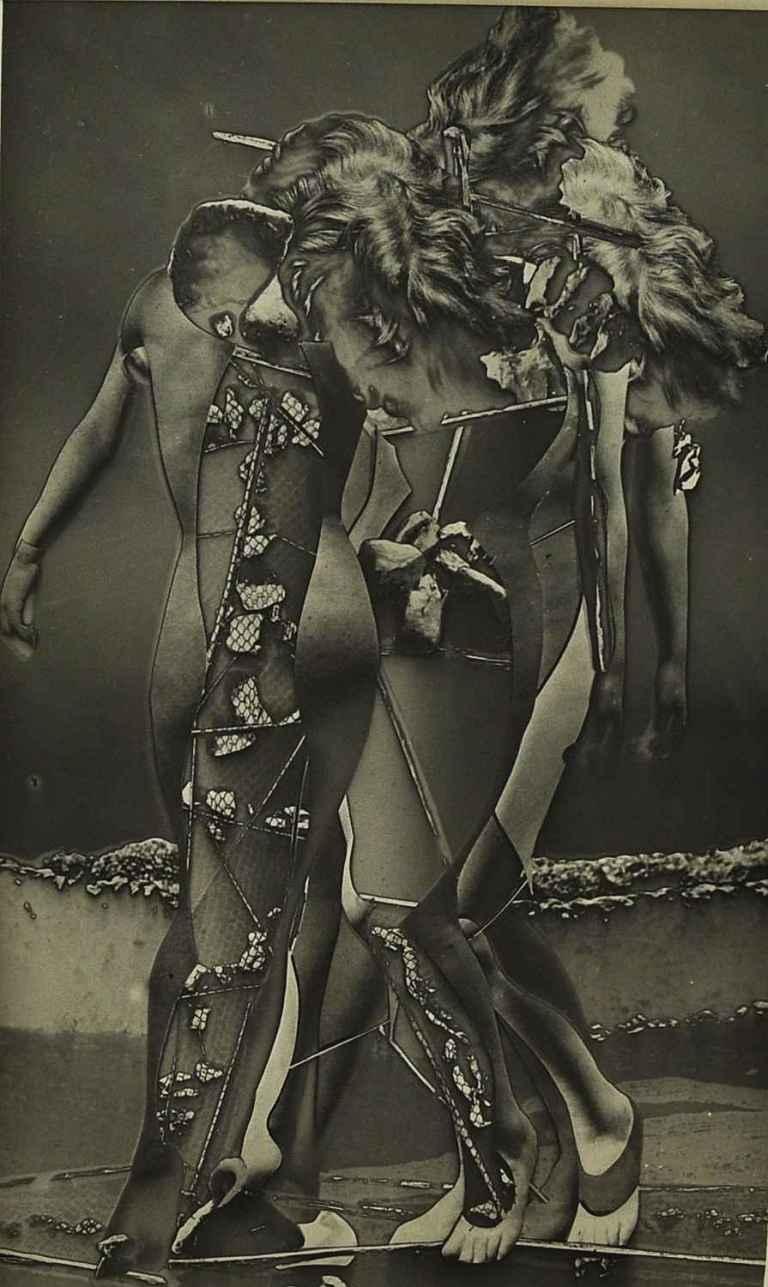 Raoul Ubac Penthésilée, 1936-37 Tirage argentique d'époque 22 x 13 cm