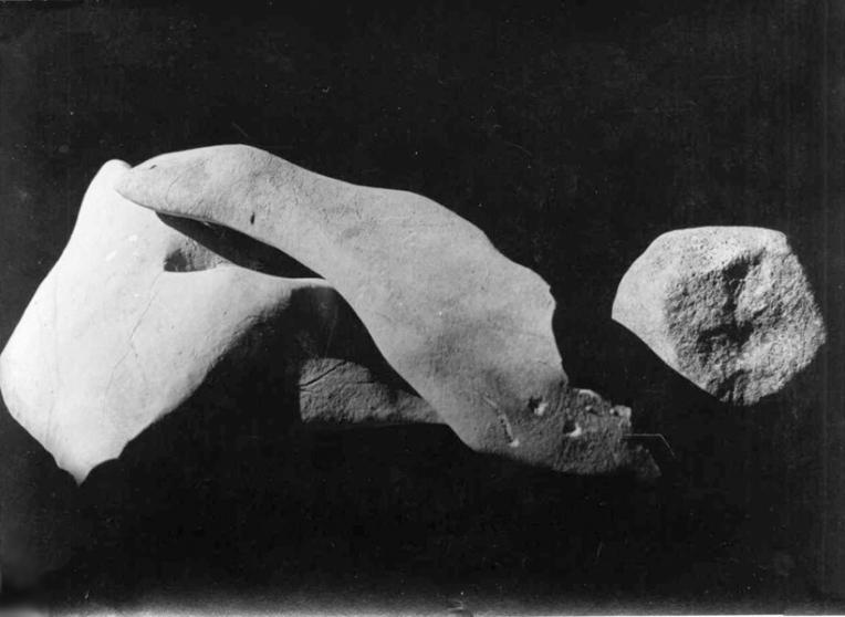Raoul UBAC (1932) Pierres assemblées, vintage gelatin silver print