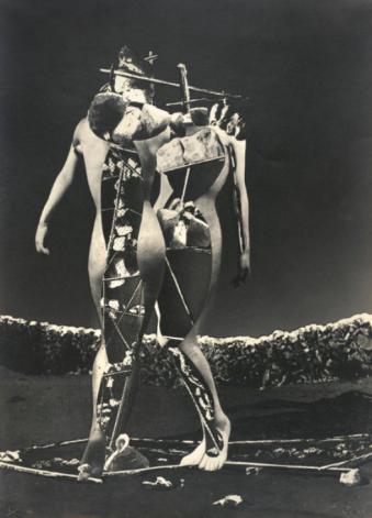 Raoul Ubac (1937) Penthésilée. Gelatin silver print 39.37 x 28.58 cm