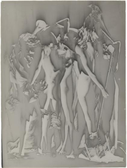 Raoul Ubac (1938) Le Conciliabule, Solarisation