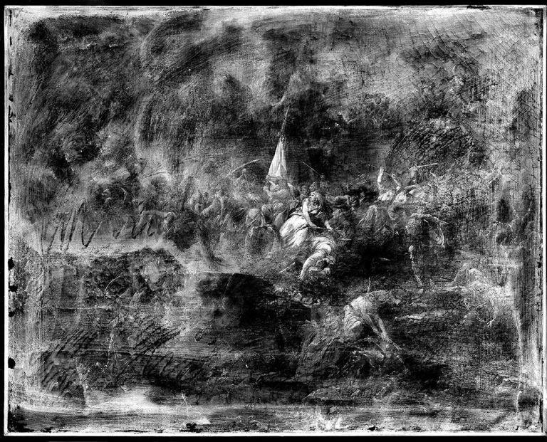 (Siege of Beauvais in 1472), 2016 © C2RMF: Alejandro Guijarro