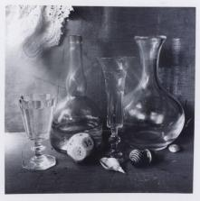 Boris Smelov (1970s) untitled still life with die.