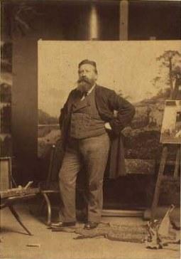 Vilhelm Tillge (1880s) Carl Henrik Bøgh (1827-1893), Danish painter