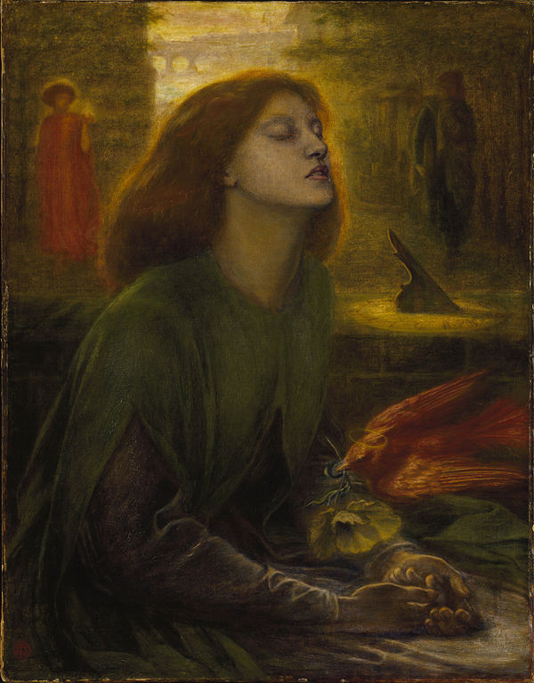 Dante_Gabriel_Rossetti Beata_Beatrix,_1864-1870