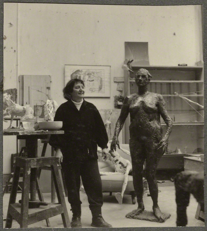 NPG Ax134264; Germaine Richier by Ida Kar