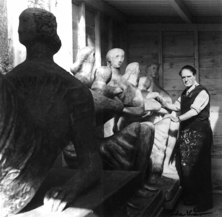 NPG x13791; Henry Moore by Ida Kar