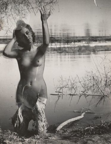 Josef Breitenbach (1948) Female nude and landscape