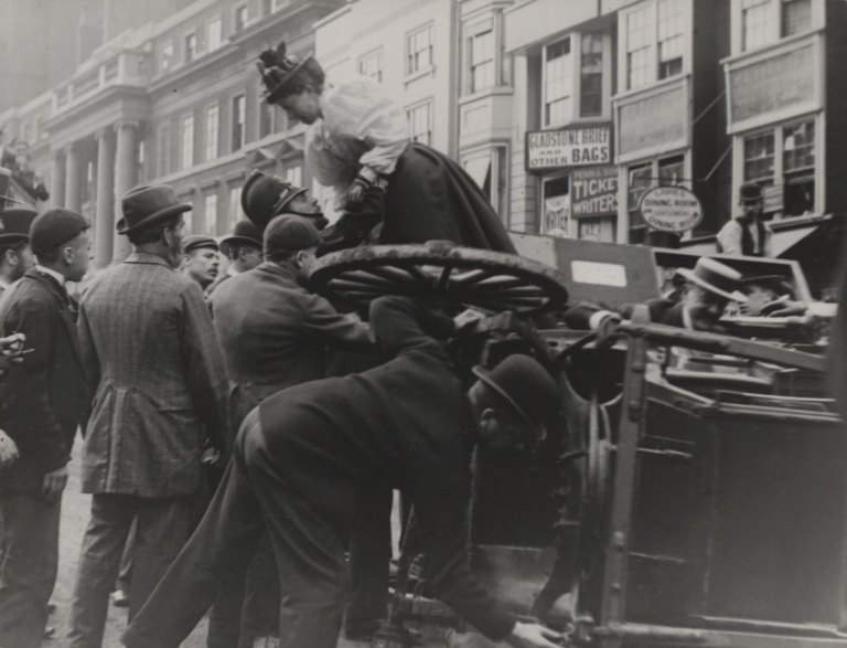 Paul Martin Cab Accident, High Holborn, London 1893-96