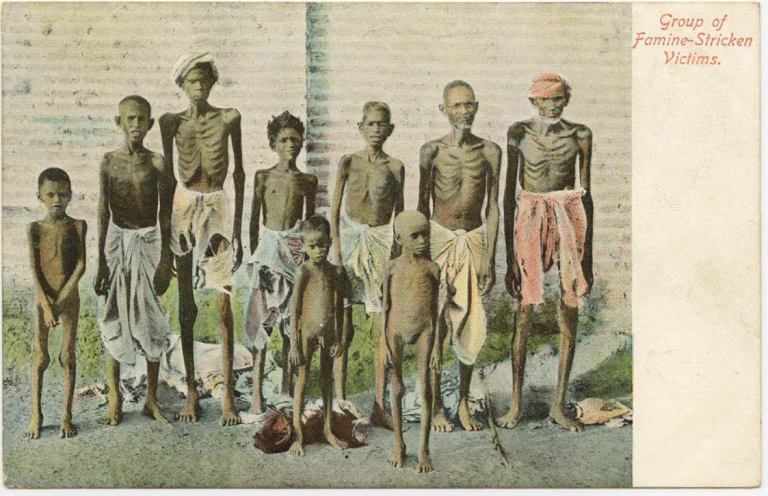 Postcard from the Allahabad famine (1900–1902)