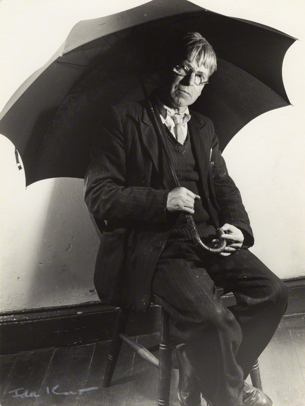NPG x13797; Sir Stanley Spencer by Ida Kar