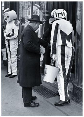 Walter Ballhause Arbeitslose in der Werbung 1930–1933