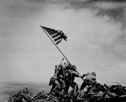 Joe Rosenthal (February 23, 1945) Raising the Flag on Iwo Jima