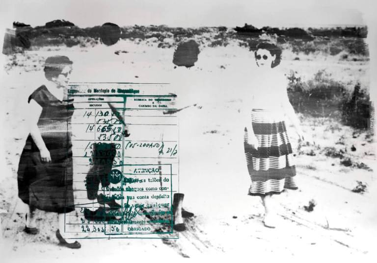 DÉLIO JASSE The Lost Chapter- Nampula, 1963 2016 The Lost Chapter- Nampula, 1963 70 x 100cm Photographic emulsion and screen print on Fabriano paper