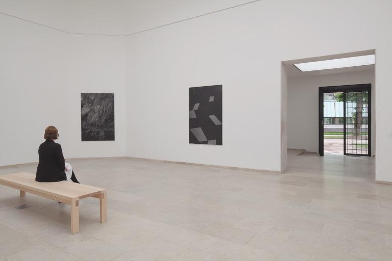 Dirk Braeckman at Belgian Pavilion, Venice Biennale, 2017 Photo- Sarah Bruyninckx