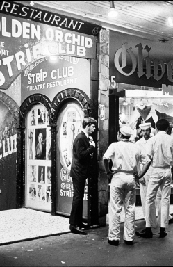 Rennie Ellis (1970-71) Golden Orchid Strip Club, Kings Cross silver gelatin, selenium toned fibre based 43.5 x 29 cm