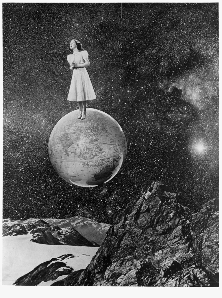 Grete Stern Dream 31 , 1949 11.5 x 9.75 inch Silver Gelatin Print