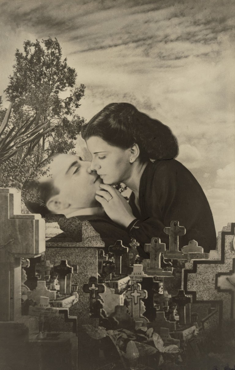 Grete Stern. Dream No. 22- Last Kiss. 1949. Gelatin silver print