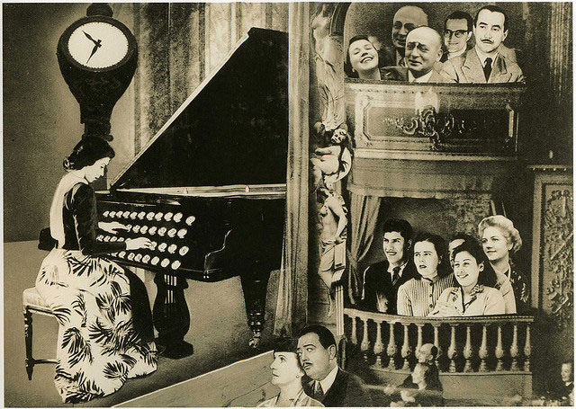 "Grete Stern, ""Dream No. 18, Café Concert"" (1948)"