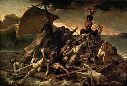 Jean Louis Théodore Géricault (1818-19) La Balsa de la Medusa, The Louvre.