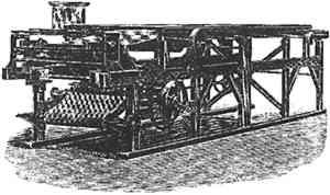 Machine for coating collodion Aristotype paper (Woodbury [1898] 1979, 114)