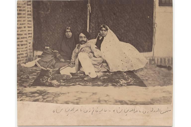 Qajar_King_Naseroddin-Shah_Wives_Aliya_Khanoom_Shamseddin