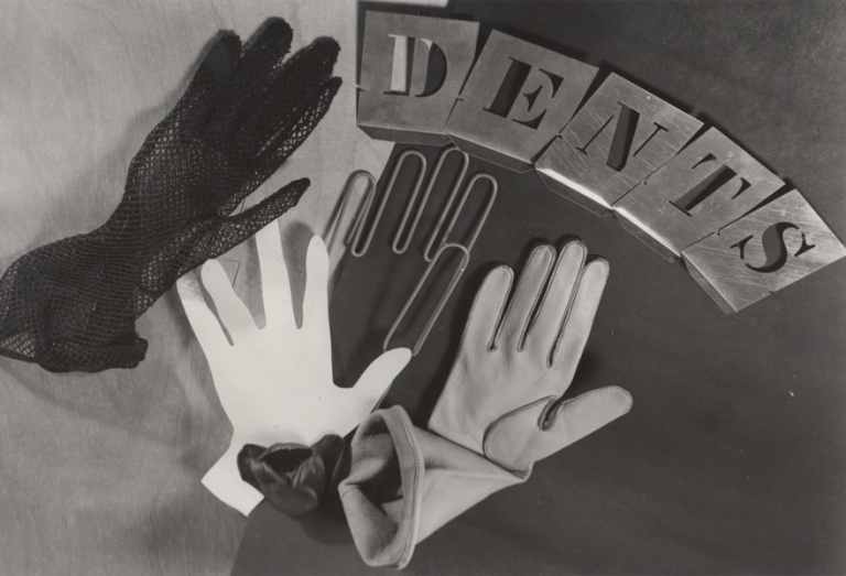 ringl + pit Dents, London, 1934 8.75 x 13 inches silver print