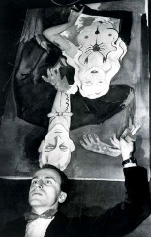 Boris Vian, ca. 1950