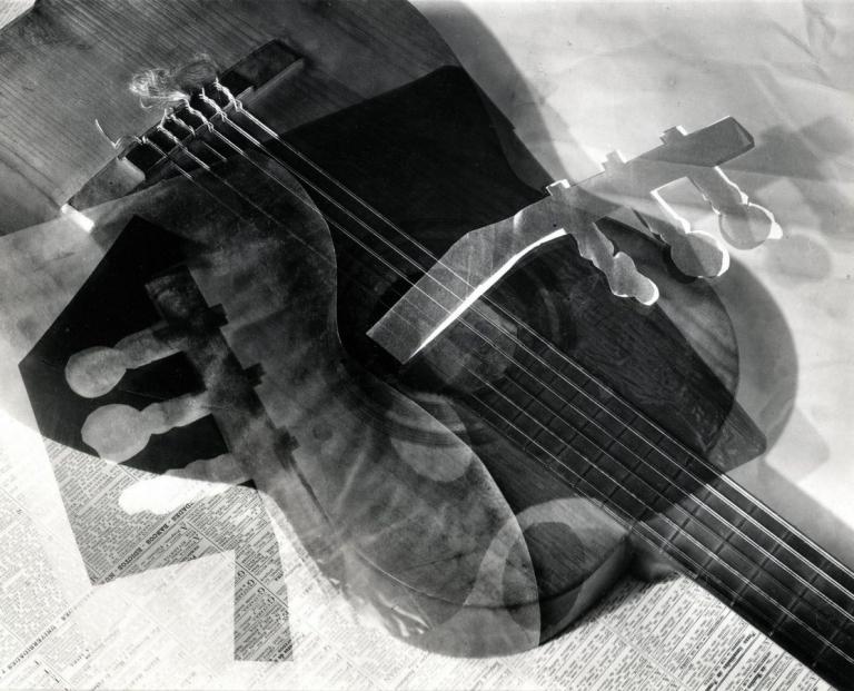 Horacio Coppola Hommage a Juan Gris 1939 (taken) 1980s (print) Gelatin silver print 28.6 x 23.2 (mat window)