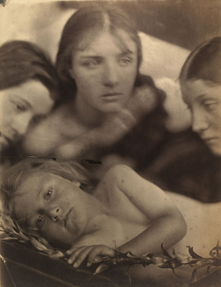 Julia Margaret Cameron Hosanna 1865
