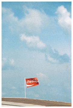 Luigi Ghirri (1973) Egmond am Zee from the series Kodachrome