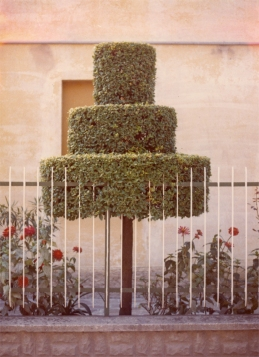 Luigi Ghirri (1973) Modena from the series Colazuone sull'erba