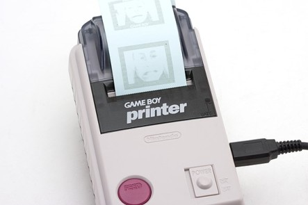 Game Boy Camera thermal printer