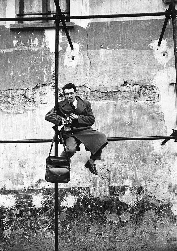 Roland d'Ursel- Portrait of Robert Doisneau, late 1940s