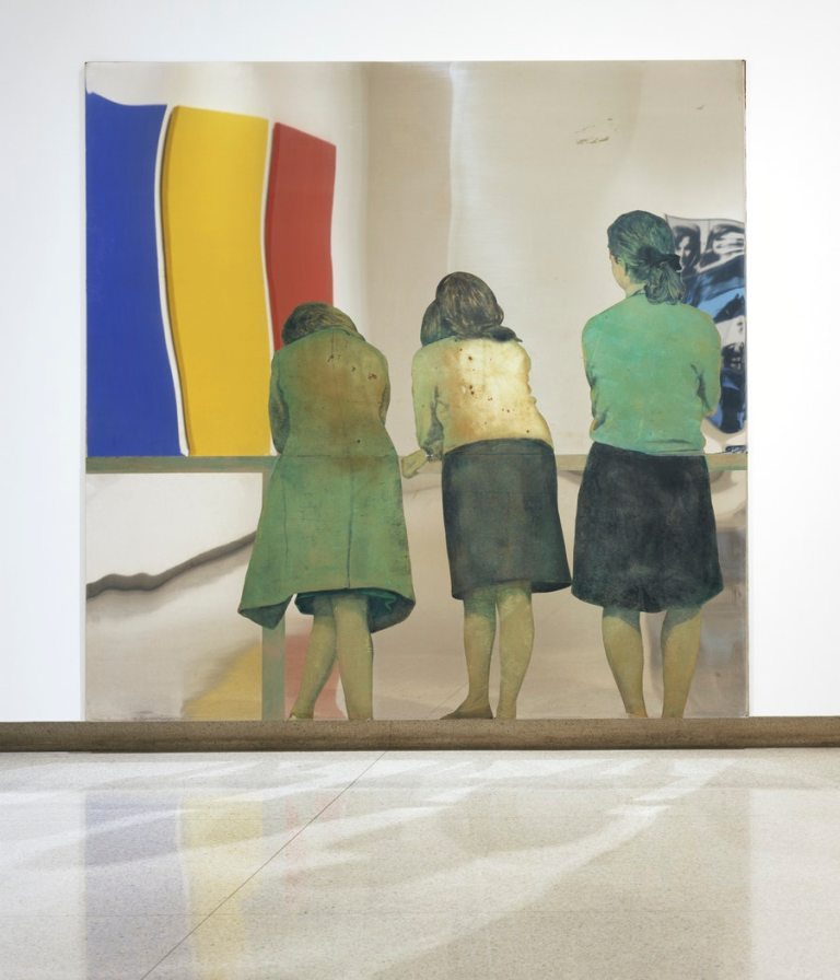 Tre ragazze alla balconata (Three Girls on a Balcony) Michelangelo Pistoletto DATE 1962–1964