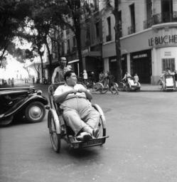 Paul Almasy (1950) Rickshaw driver in Saigon